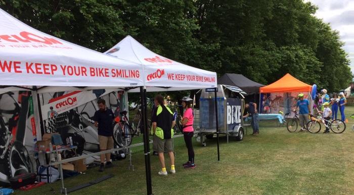 cycling event sponsorship