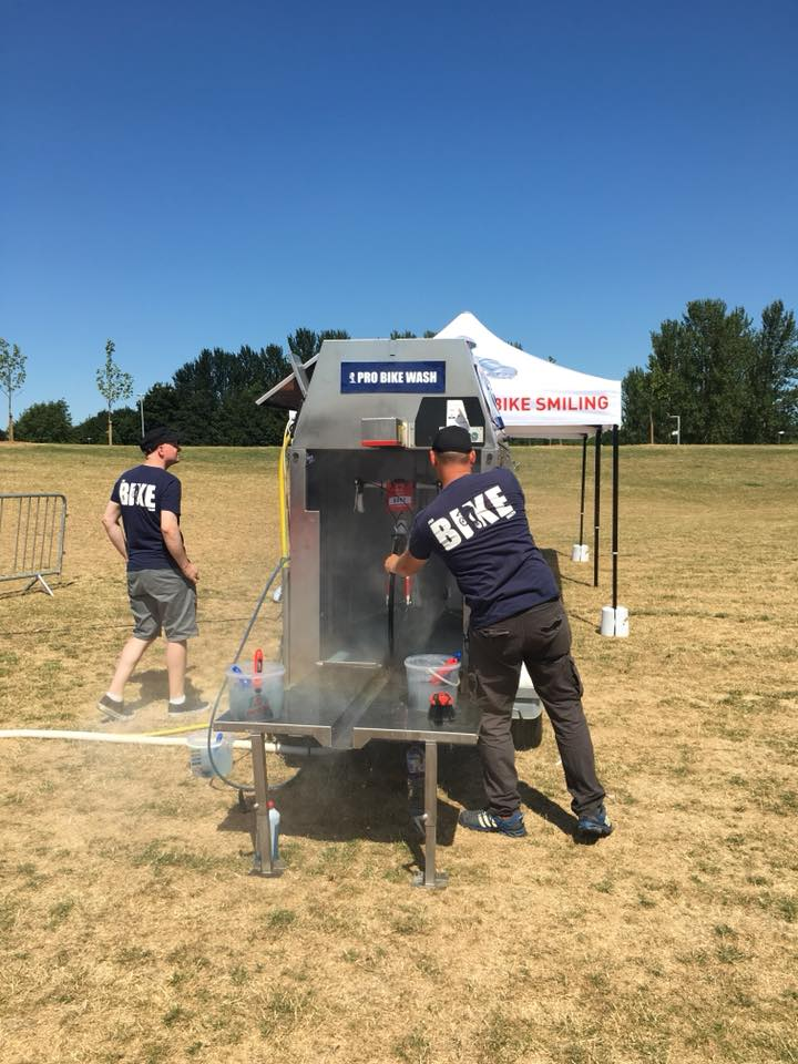 Mobile Bike Wash Service British Heart Foundation Milton Keynes