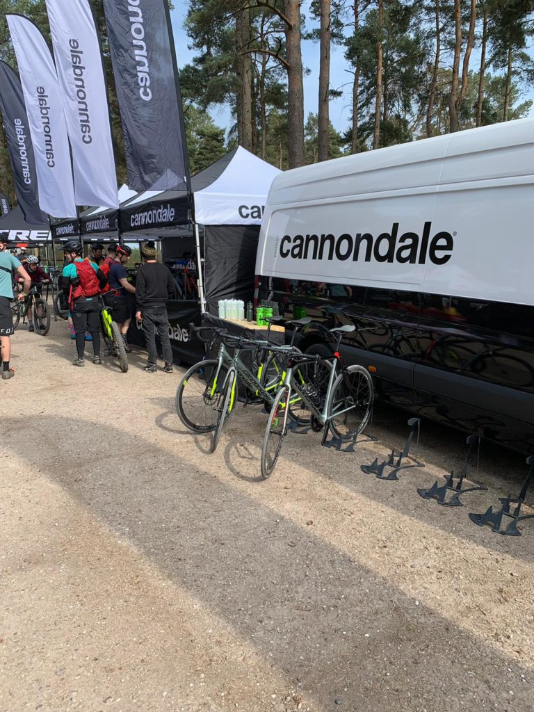 Cannondale Demonstration Day Bike Cleaning