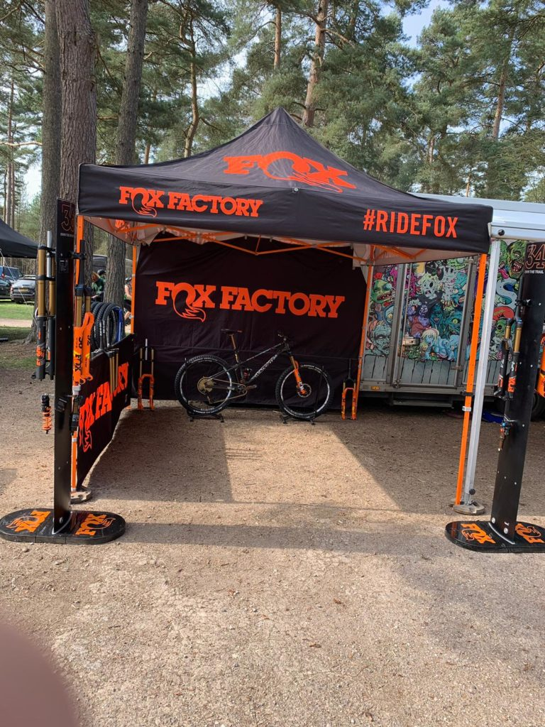 Fox Factory Demonstration Day Bike Cleaning